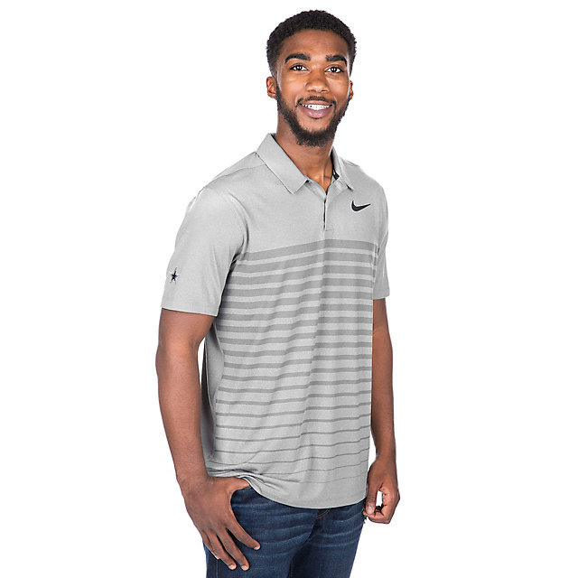 Dallas Cowboys Mens Nike Dry Golf Polo