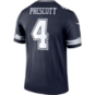 Dallas Cowboys Dak Prescott #4 Nike Legend Team Tee