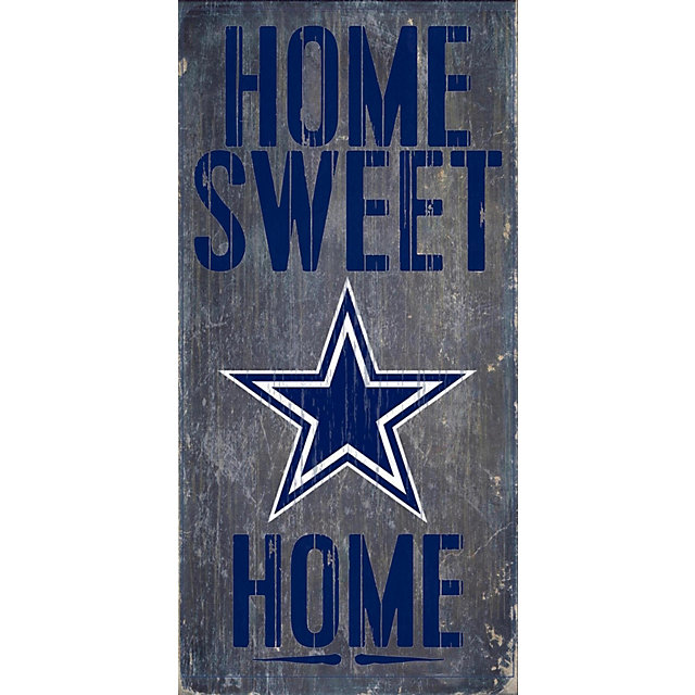 Dallas Cowboys Home Sweet Home Sign