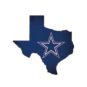 "Dallas Cowboys 12"" State Sign"