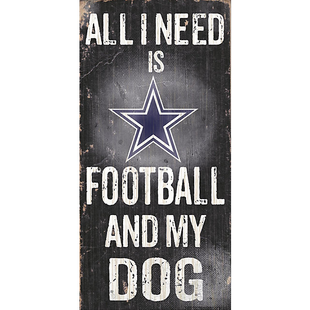 Dallas Cowboys Football and My Dog Sign