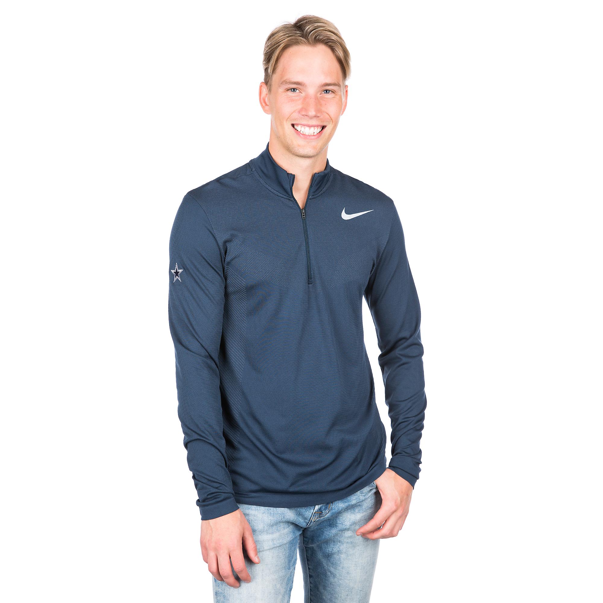 Dallas Cowboys Nike Dry Mens Golf Pullover