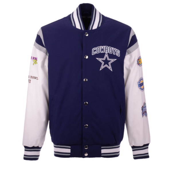 Dallas Cowboys Commemorative Varsity Jacket