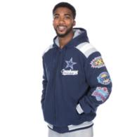 Dallas Cowboys Hooded Commemorative Varsity Jacket
