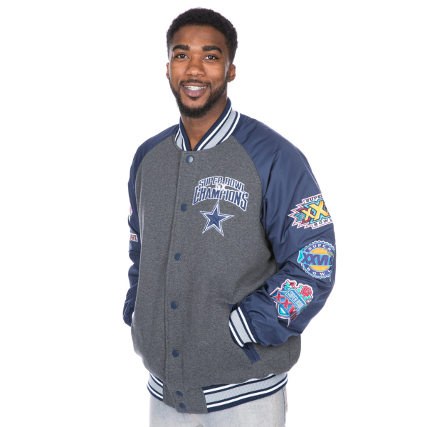 Dallas Cowboys Cotton Commemorative Varsity Jacket