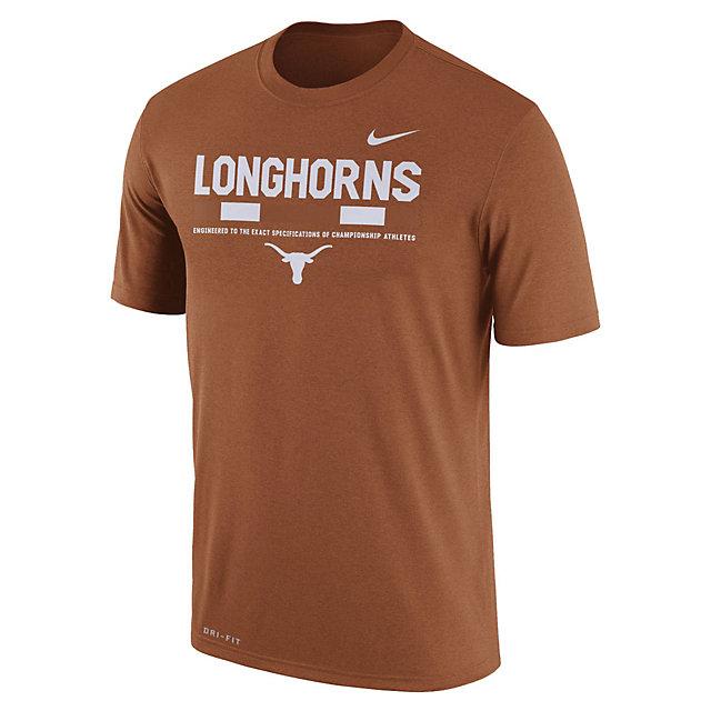 Texas Longhorns Nike Dry Legend Staff Tee
