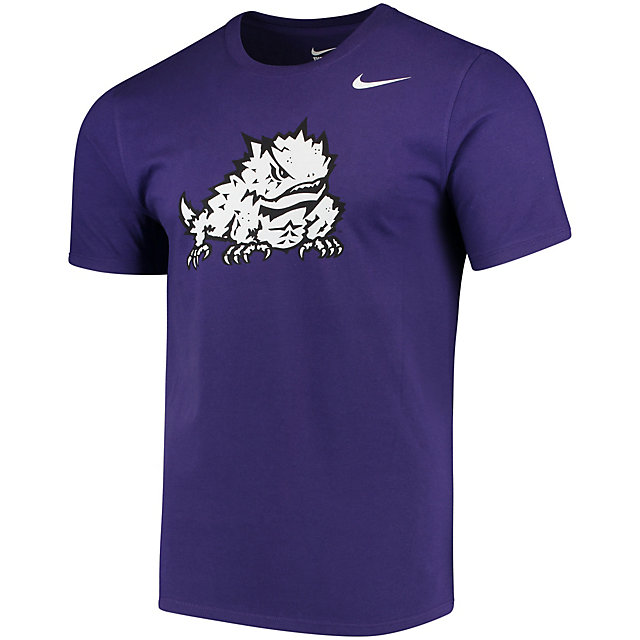 TCU Horned Frogs Nike Cotton Short Sleeve Logo Tee