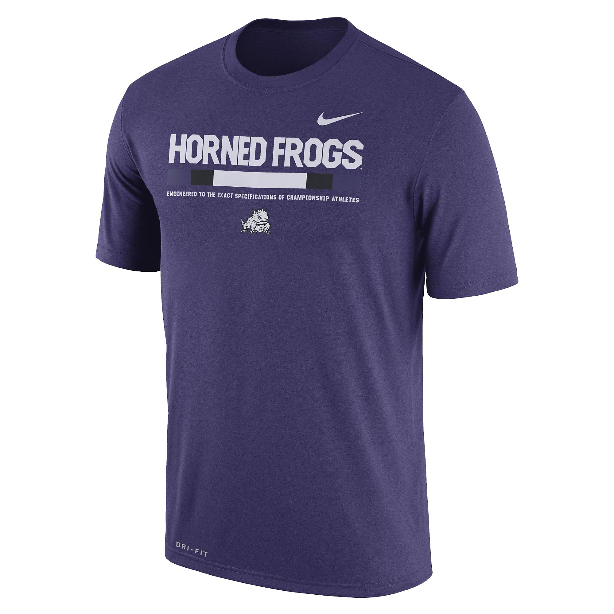 TCU Horned Frogs Nike Dry Legend Staff Tee