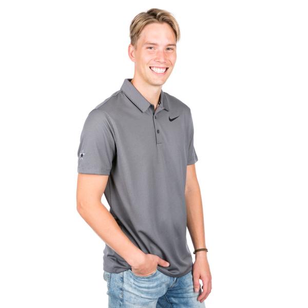 Dallas Cowboys Nike Dry Mens Golf Short Sleeve Polo