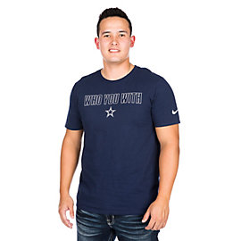 Dallas Cowboys Nike Who You With Short Sleeve Tee