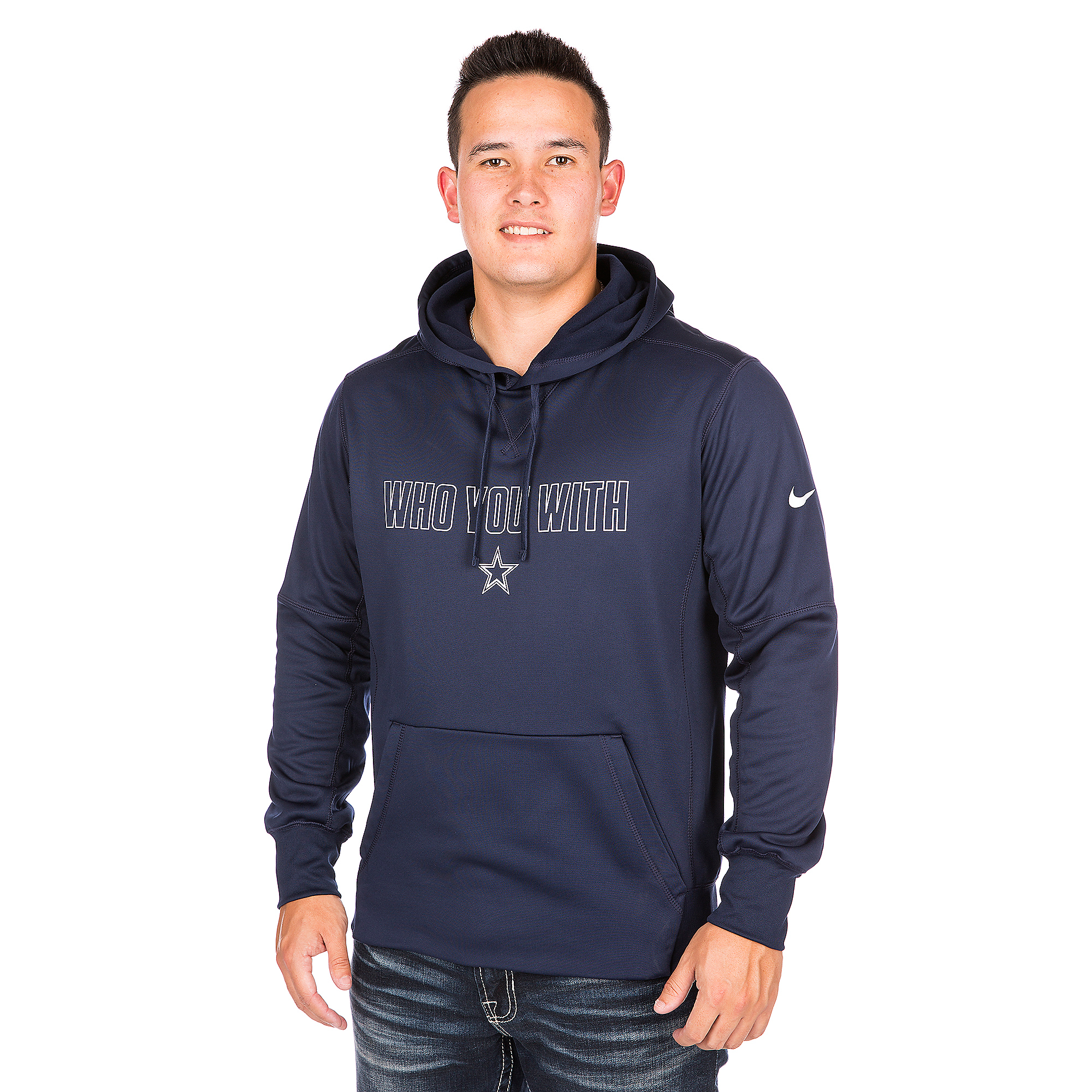 Dallas Cowboys Nike Who You With Hoody