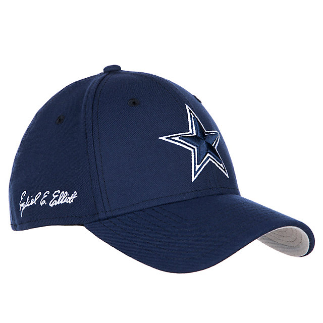 Dallas Cowboys New Era Ezekiel Elliott 39Thirty Cap