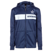 Dallas Cowboys Nike Youth Therma Full-Zip Hoody