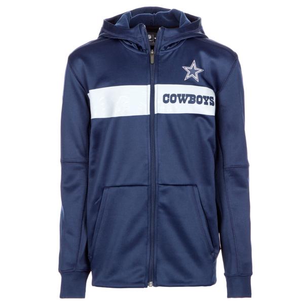 Dallas Cowboys Nike Youth Therma Full-Zip Hoody