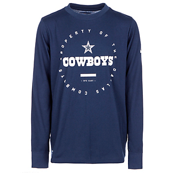 593eaa3b9 Dallas Cowboys Nike Youth Property Of Long Sleeve Tee