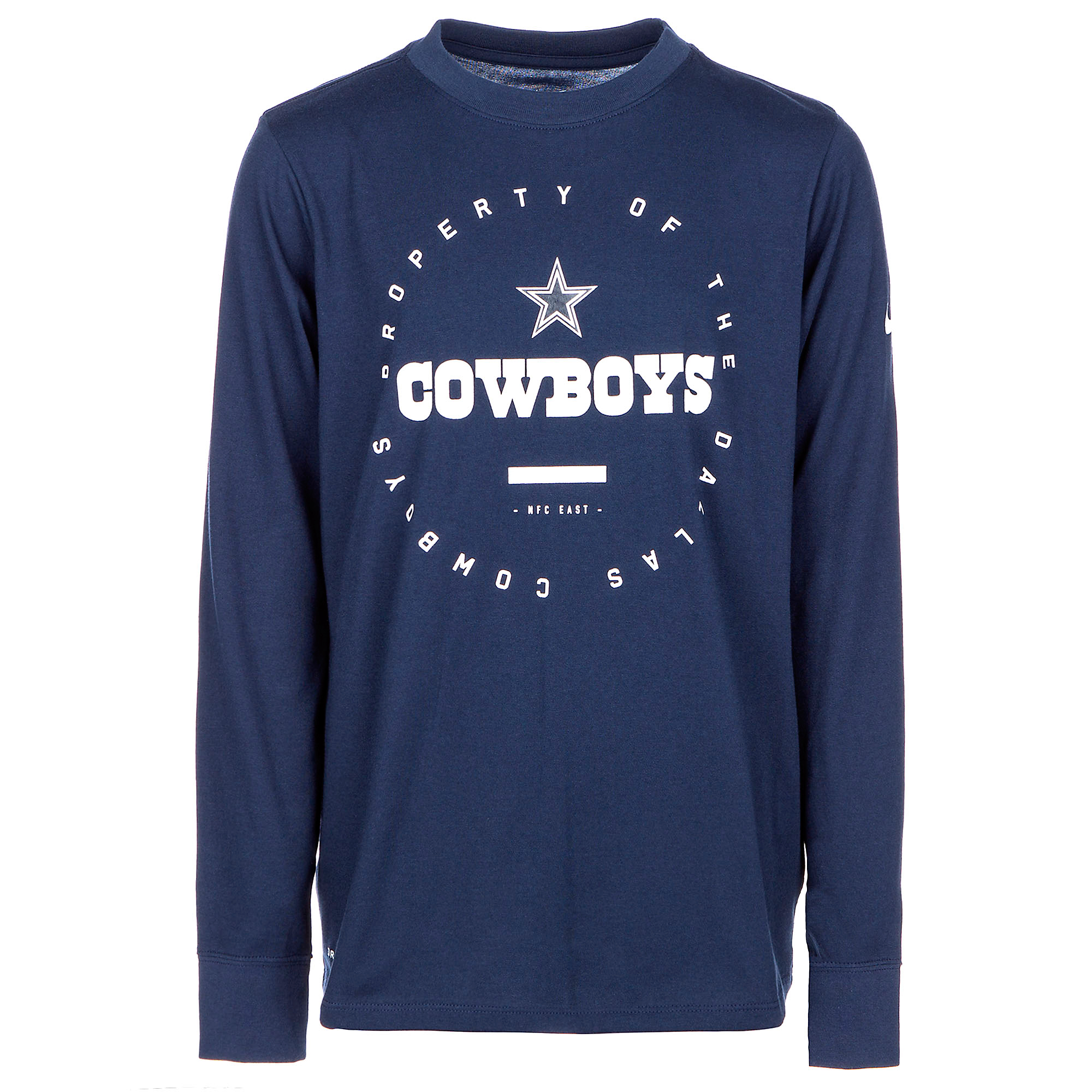 Dallas Cowboys Nike Youth Property Of Long Sleeve Tee