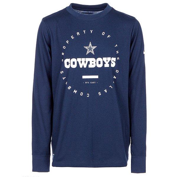 Dallas Cowboys Nike Youth Property Of Long Sleeve Tee
