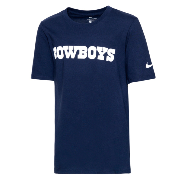 Dallas Cowboys Nike Youth Essential Wordmark T-Shirt