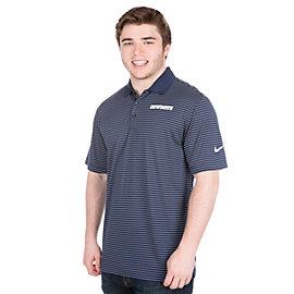 Dallas Cowboys Nike Striped Dri-FIT Polo