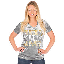 Dallas Cowboys Crushed Velvet Tee