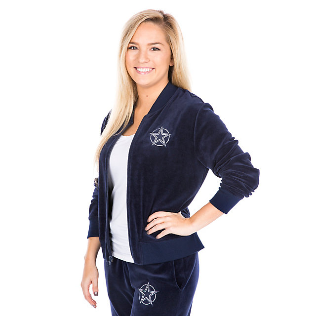 Dallas Cowboys Velour Nadia Jacket