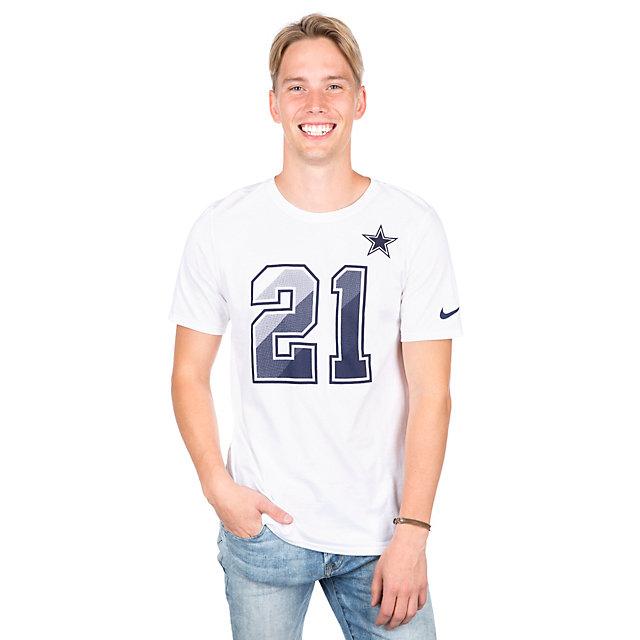 Dallas Cowboys Ezekiel Elliott #21 Nike Prism Tee