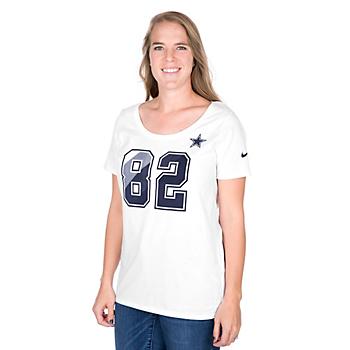 Dallas Cowboys Womens Jason Witten #82 Nike Prism Tee