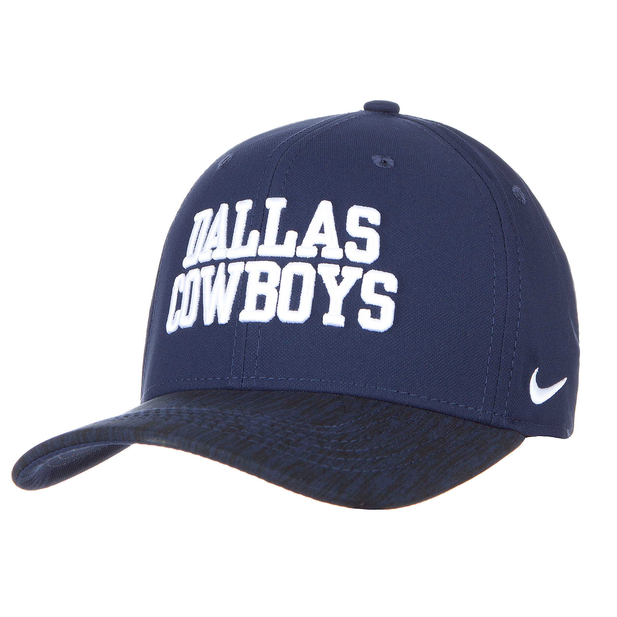 Dallas Cowboys Nike Wordmark Swooshflex Cap