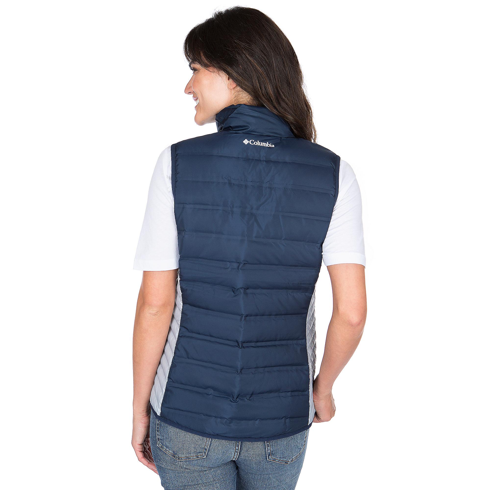cheap for discount 6f099 c7243 Dallas Cowboys Columbia Womens Lake 22 Down Vest | Dallas Cowboys Pro Shop