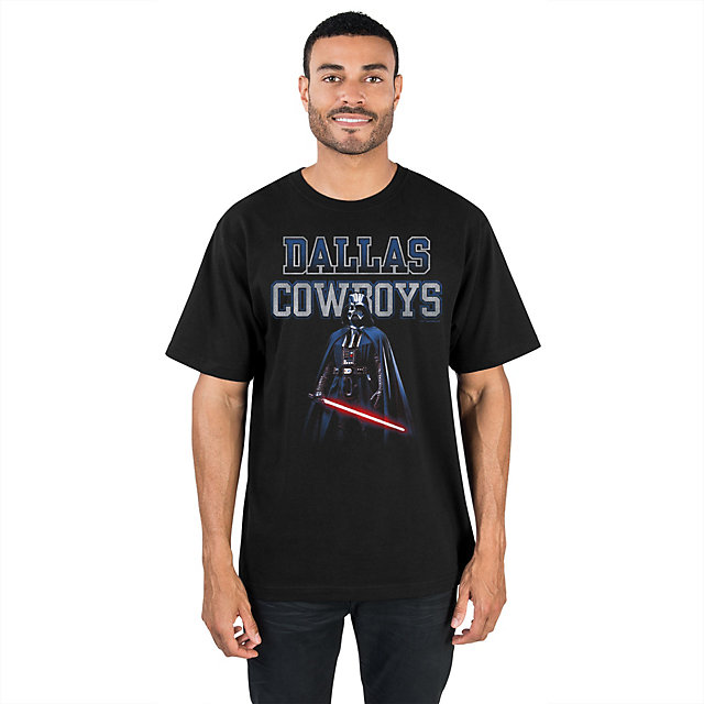 Dallas Cowboys Star Wars Vader Presence Tee