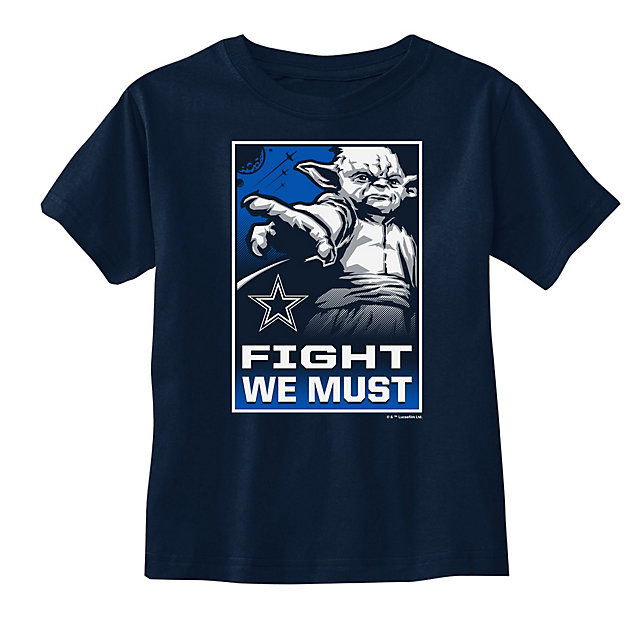 Dallas Cowboys Star Wars Toddler Yoda We Must Tee