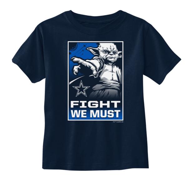 Dallas Cowboys Star Wars Toddler Yoda We Must Tee