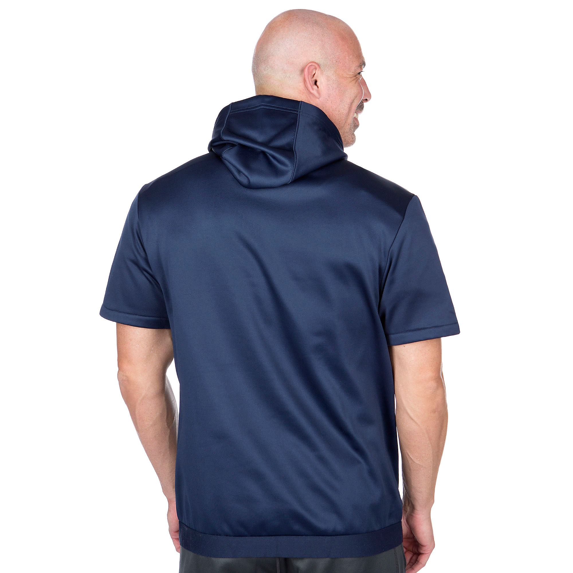 online store 586a8 698e2 Dallas Cowboys Nike Fly Short Sleeve Hoody   Fans United