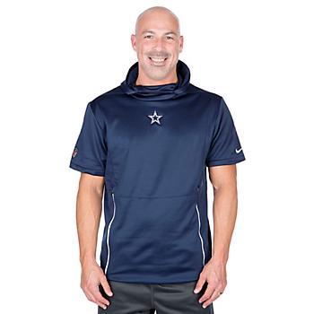 Dallas Cowboys Nike Fly Short Sleeve Hoodie
