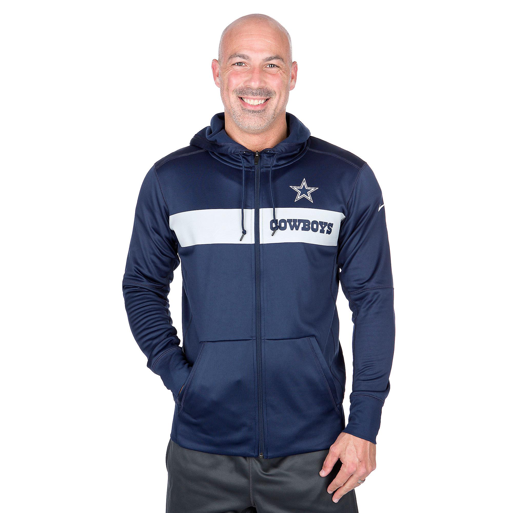Dallas Cowboys Nike Sideline Full-Zip Hoody