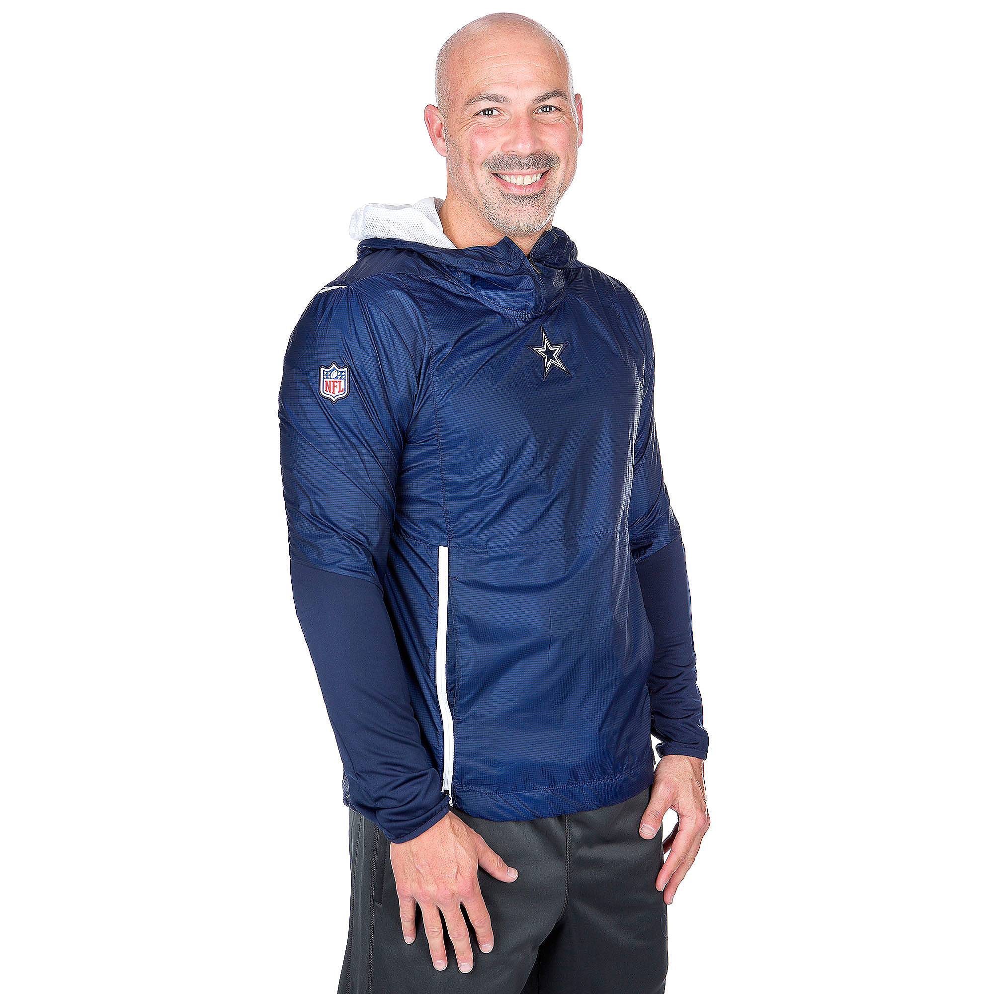 sale retailer e57b3 0275e Dallas Cowboys Nike Fly Rush Jacket | Dallas Cowboys Pro Shop