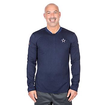 Dallas Cowboys Nike Half Zip Top