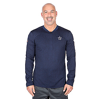 Dallas Cowboys Nike Half Zip Top