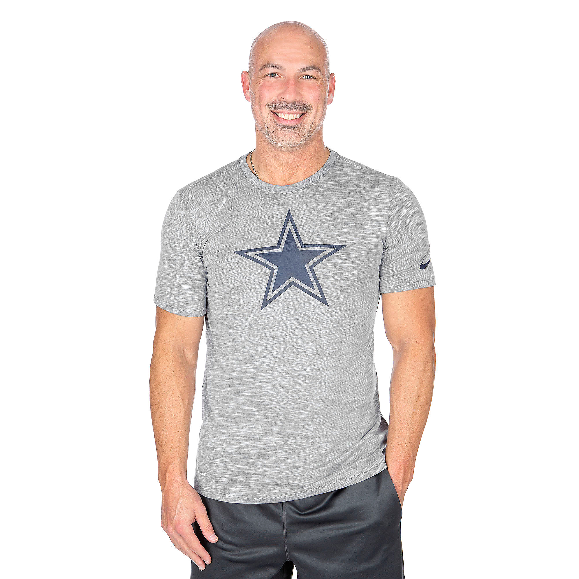 Dallas Cowboys Nike Dri-FIT Cotton Sideline Tee