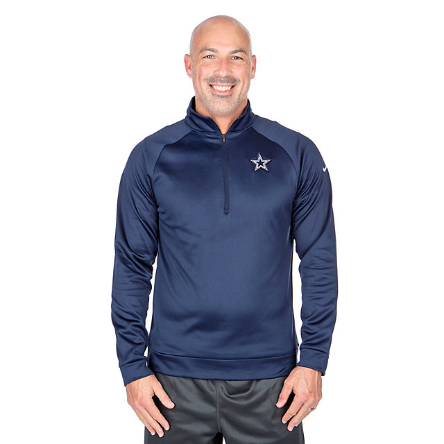 Dallas Cowboys Nike Therma Half-Zip Top