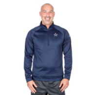 Dallas Cowboys Nike Therma Half-Zip Top