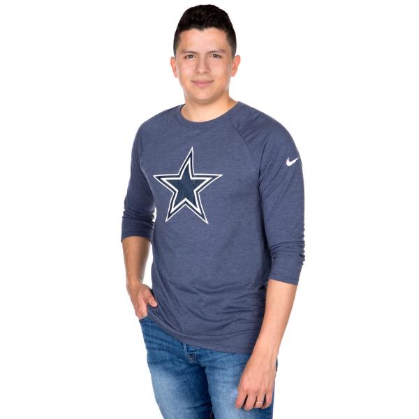 Dallas Cowboys Nike Tri Vault Raglan Tee