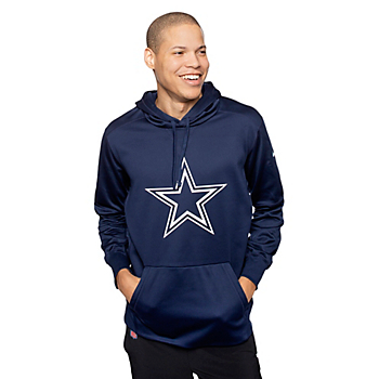 Dallas Cowboys Nike Mens Performance Circle Logo Hoody