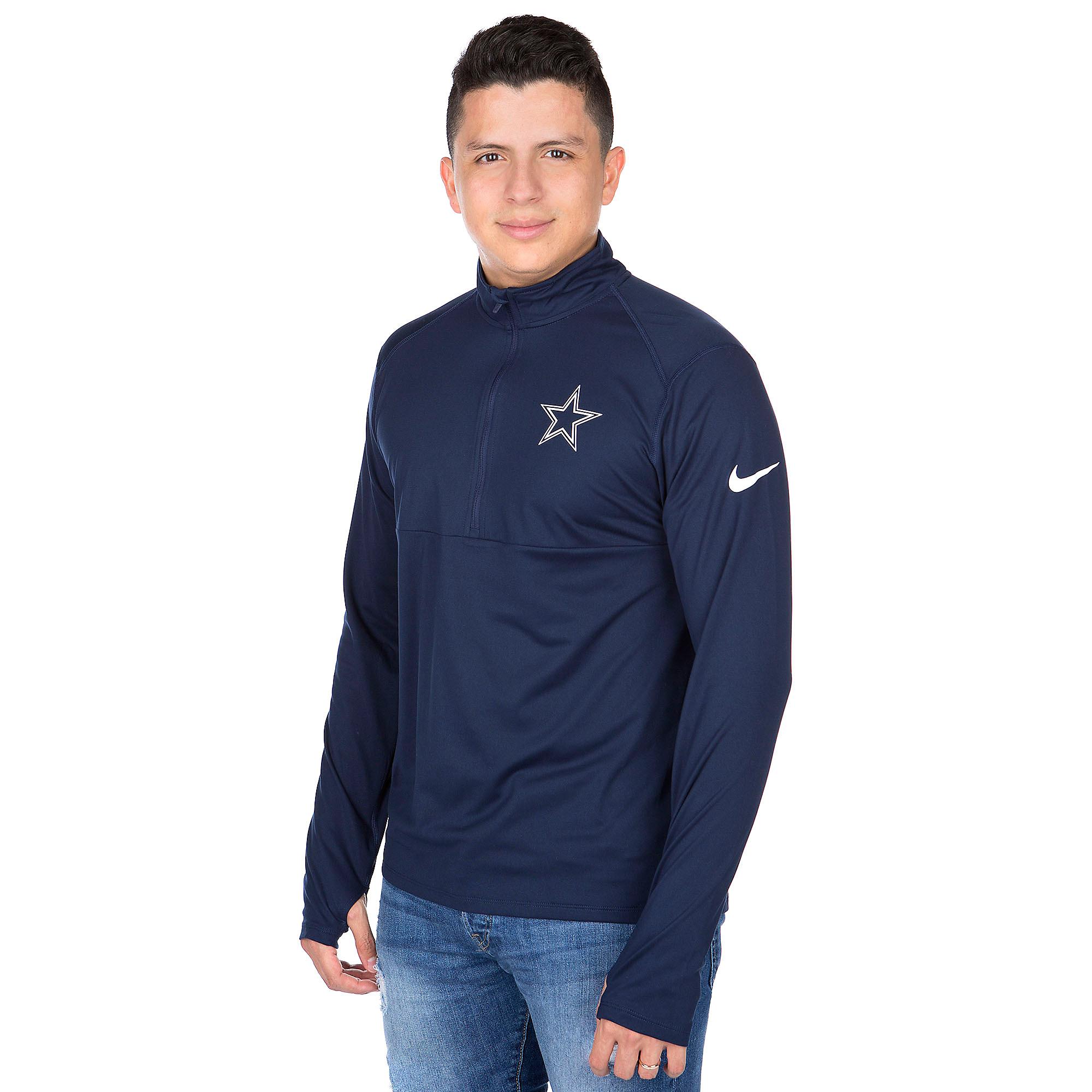 Dallas Cowboys Nike Element Half-Zip Top