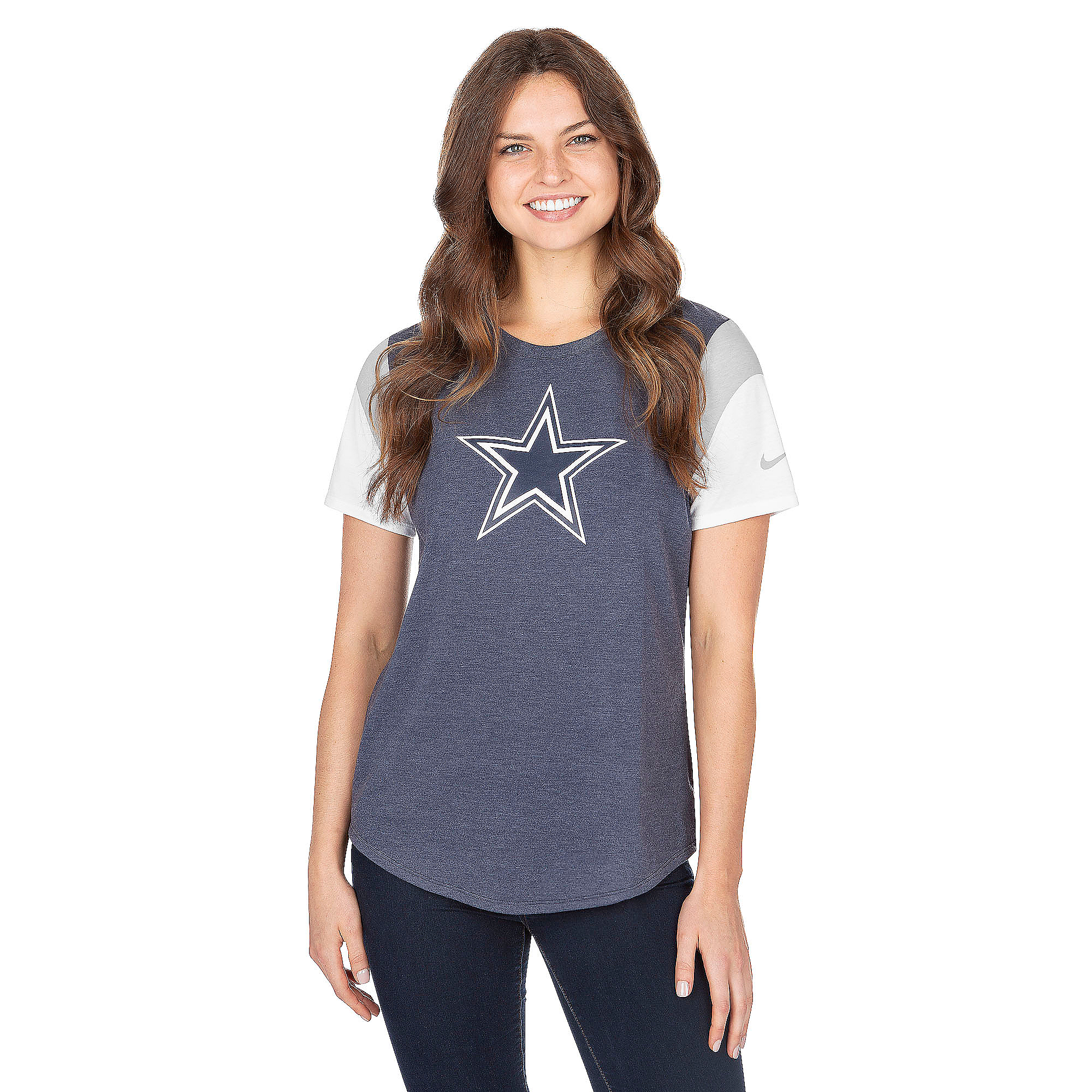 Dallas Cowboys Nike Tri Fan Tee