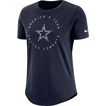 Dallas Cowboys Nike Circle Crew Tee