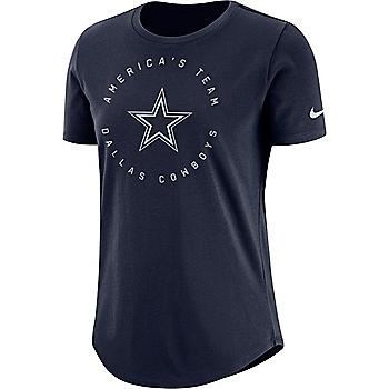 Dallas Cowboys Nike Circle Crew Tee