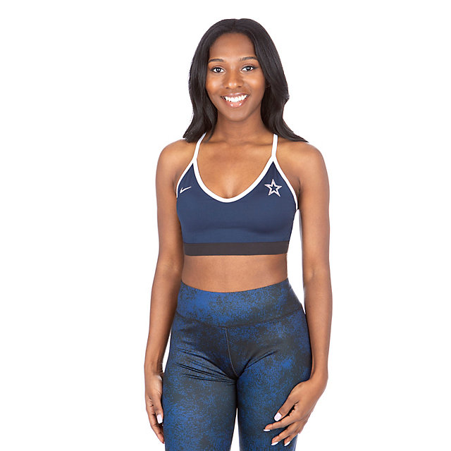 Dallas Cowboys Nike Power Indy Light Bra