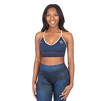Dallas Cowboys Nike Power Indy Sports Bra