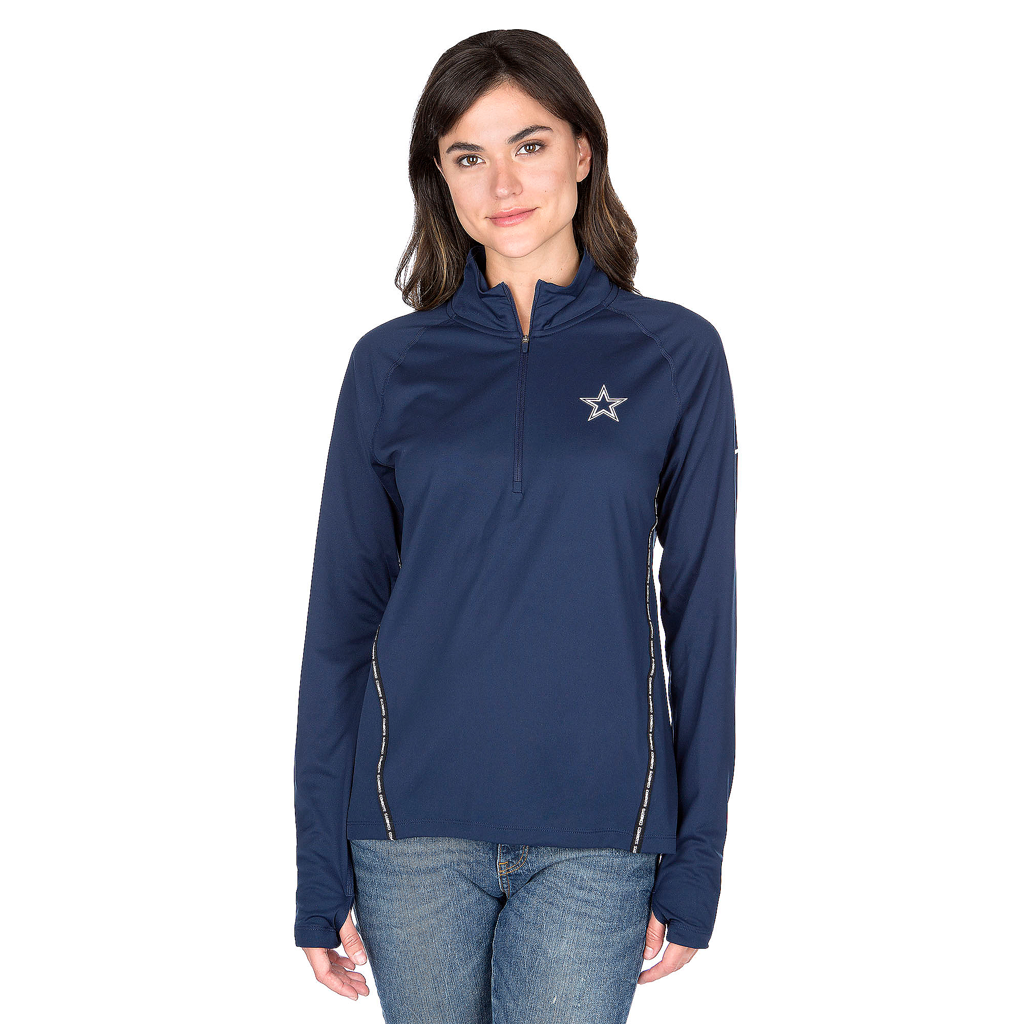 Dallas Cowboys Nike Core Half Zip Top